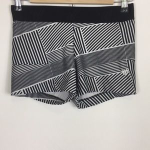 Varsity Spirit Black & White Patterned Cheer Short
